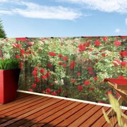 Tieniaca sieť STYLIA na balkón a terasu FLOWERS 1x3m