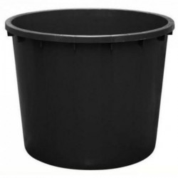 Sud plastový čierny 700L