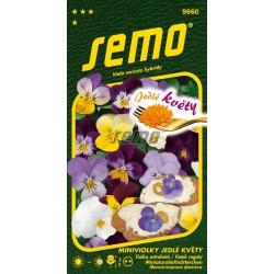 SEMO Jedlé kvety Fialka ostrohatá 9660 0,3g