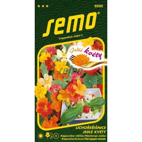 SEMO Jedlé kvety Kapucínka väčšia 9550 2g