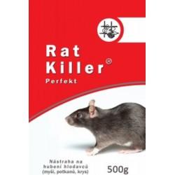 Rat Killer Perfekt granule proti hlodavcom 500g