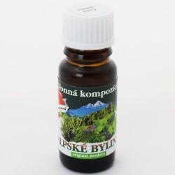 Vonný olej Alpské byliny 10 ml