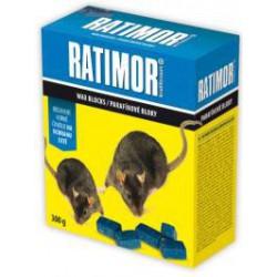 RATIMOR Parafínové bloky na myši a potkany 300g