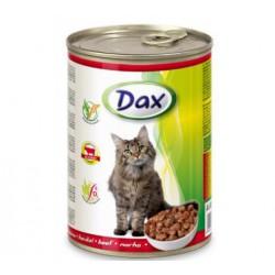 DAX Konzerva Hovädzie pre mačky 415g